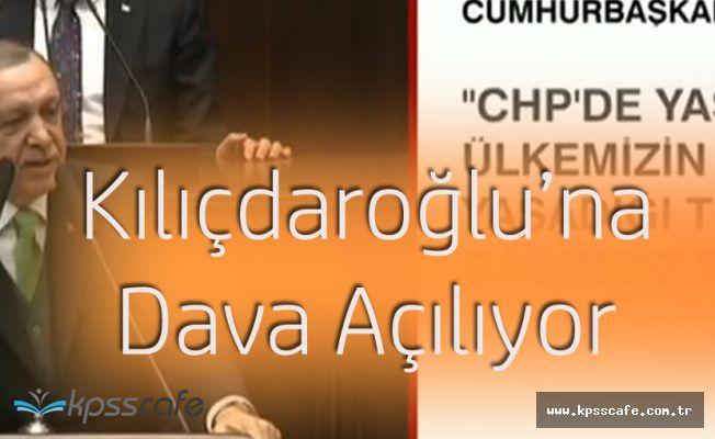 """Cumhurbaşkanı Erdoğan: """"Bay Kemal'e Suça Teşvikten Davalarımızı Açıyoruz"""""""