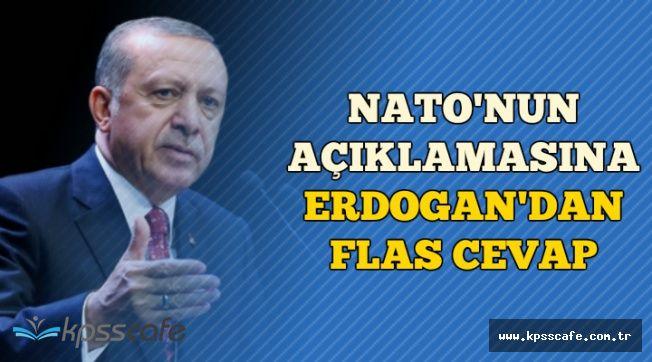 NATO Genel Sekreteri ile Görüşen Erdoğan'dan Flaş Açıklama