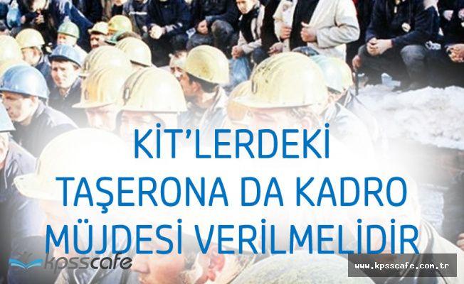 HAK-İş'ten KİT'lerde Çalışan Taşeron İşçiler için Kadro Çağrısı