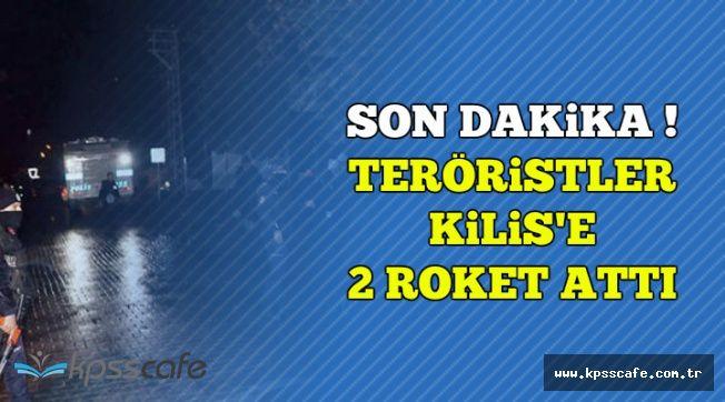 Son Dakika: Teröristler Reyhanlı'ya 2 Roket Attı