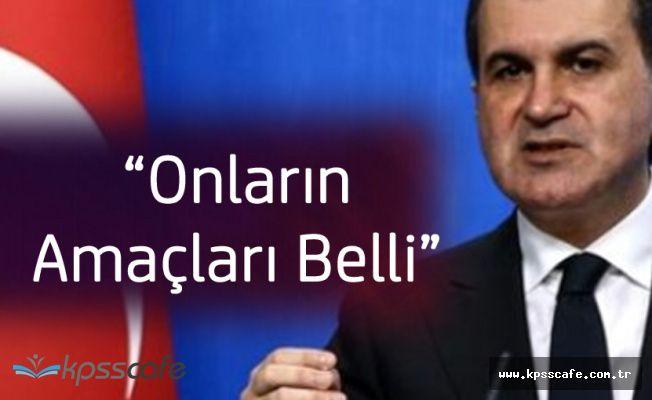 AB Bakanı Çelik'ten 'ÖSO' Açıklaması 'Neyi Amaçladıklarını Gördük'