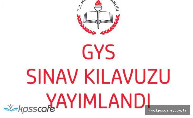 MEB 513 Şube Müdürü Ataması (GYS) Sınav Kılavuzu Yayımlandı