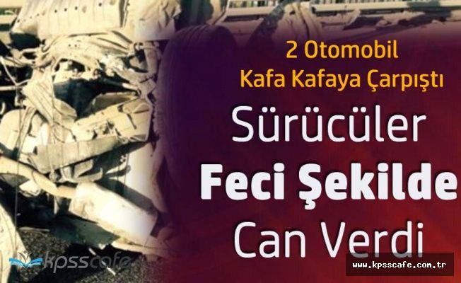 Samsun'da Feci Kaza! İki Kişi Hayatını Kaybetti