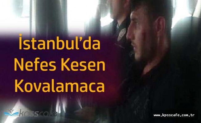 Şişli'de Nefes Kesen Kovalamaca! 'Polisin Burnunu Kırdı'