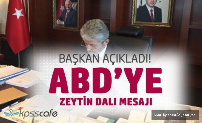 Ankara Büyükşehir Belediyesi'nden ABD'ye 'Zeytin Dalı' Mesajı