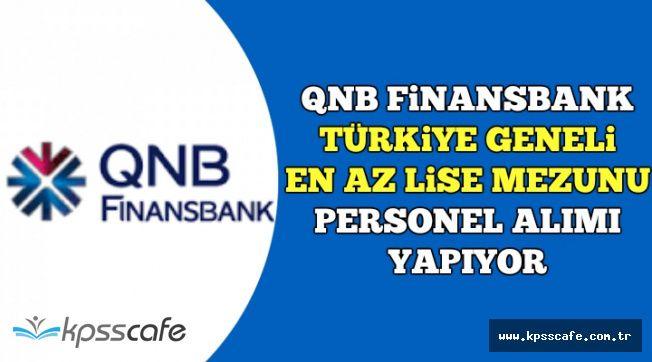 Türkiye Geneli En Az Lise Mezunu Banka Personeli Alınıyor-İşte Başvuru Ekranı