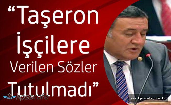 """Ömer Fethi Gürer: """"Taşerona Verilen Söz Tutulmadı!"""""""