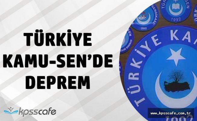 Türkiye Kamu-Sen'de Deprem! 8 Genel Başkan Değişti
