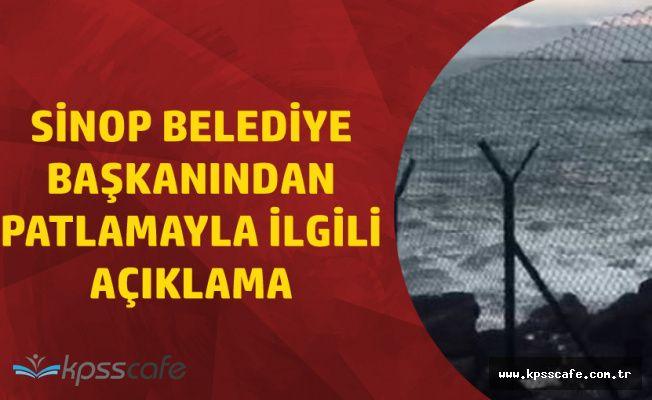 Sinop'ta Kuru Yük Gemisinde Patlama ! 1 Ölü, 1 Yaralı