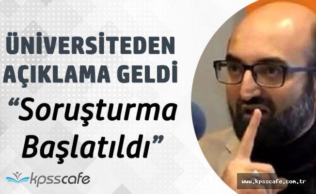 'Çanakkale ve Bursa'da Genelev Olarak Kullanılan Camiler Var' Demişti Soruşturma Başlatıldı
