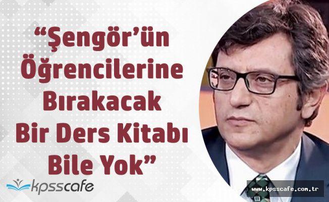 """YÖK Üyesi Hasan Nuri Yaşar'dan Celal Şengör Çıkışı """"Boş Konuşmaları Bol, Öğrencilerine Bırakacak Bir Ders Kitabı Yok"""""""