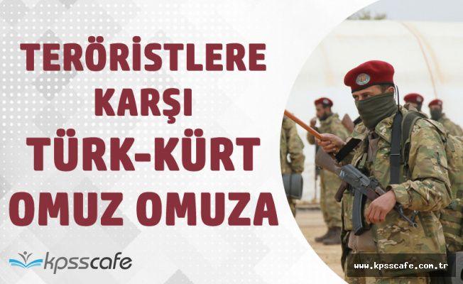 400 Afrinli Kürt PKK ile Savaş için Zeytin Dalı Harekatına Katıldı
