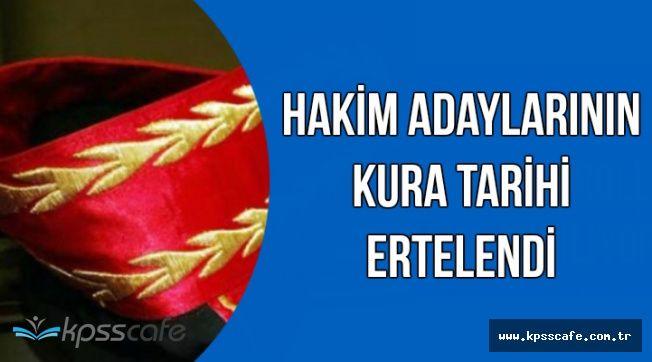 HSK'dan Son Dakika Açıklaması: Hakimlerin Kura Töreni Tarihi Ertelendi