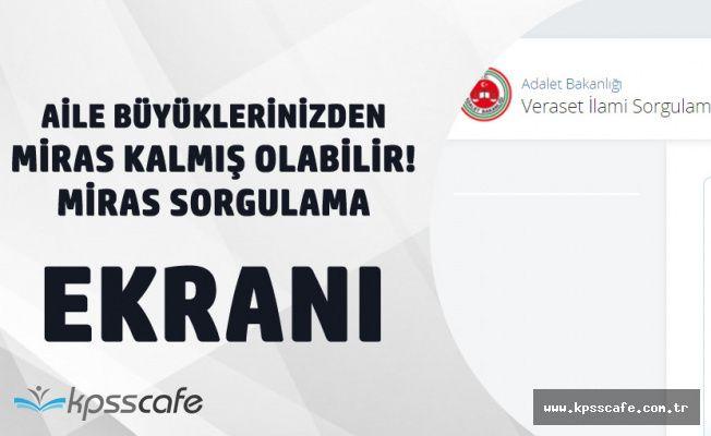 e-Devletten Bir Hizmet Daha! Turkiye.Gov.tr Üzerinden Miras Sorgulama Yapılabilecek