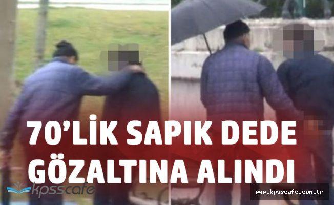 70 Yaşındaki Dede Taksim Parkında Erkekleri Taciz Ederken Yakalandı