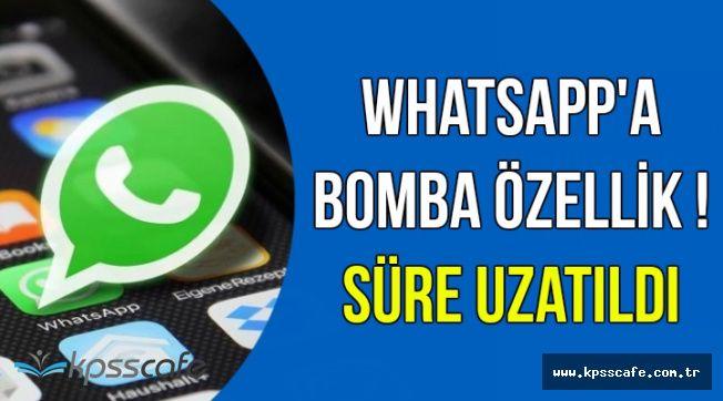 WhatsApp Kullanıcılarını Sevindiren Yeni Gelişme
