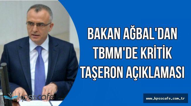 Bakan'dan TBMM'de Kritik Taşerona Kadro Açıklaması
