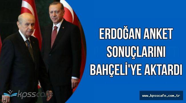 Cumhurbaşkanı Erdoğan Bahçeli'ye Anket Sonucunu Aktardı