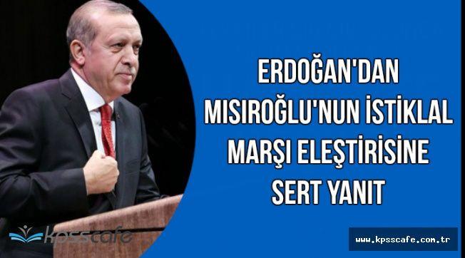 Cumhurbaşkanı Erdoğan'dan Kadir Mısıroğlu'na İstiklal Marşı Cevabı