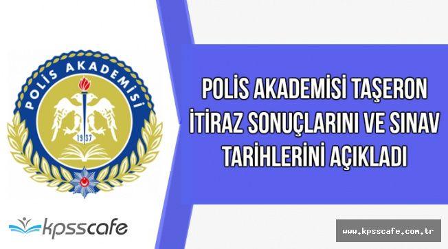 Polis Akademisi Taşeron İtiraz Sonuçlarını ve Sınav Tarihlerini Açıkladı