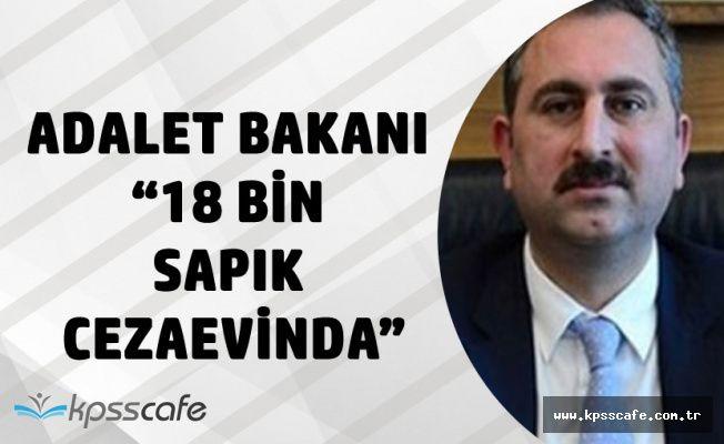 Adalet Bakanı Gül : Cezaevlerinde 18 Bin Sapık Var Adalet