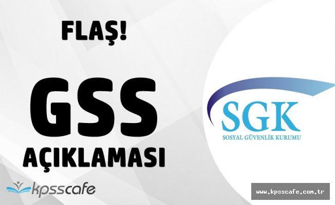 Genel Sağlık Sigortası (GSS) Çöktü Haberleriyle İlgili Açıklama