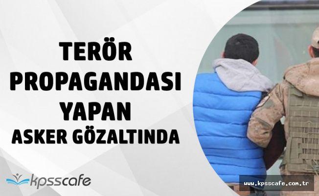 Balıkesir'de Bölücü Terör Örgütü Propagandası Yapan Er Gözaltına Alındı