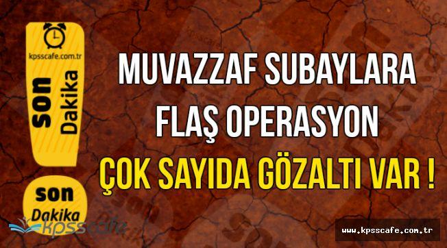 Jandarma Genel Komutanlığında Subaylara Operasyon: Çok Sayıda Gözaltı..