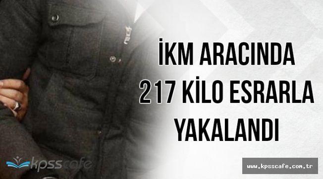 Flaş: Adana'da İKM, Aracında 217 Kilo Esrarla Yakalandı