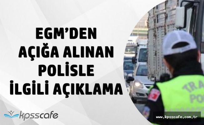 İstanbul Emniyetinden Açığa Alınan Polisle İlgili Açıklama Geldi