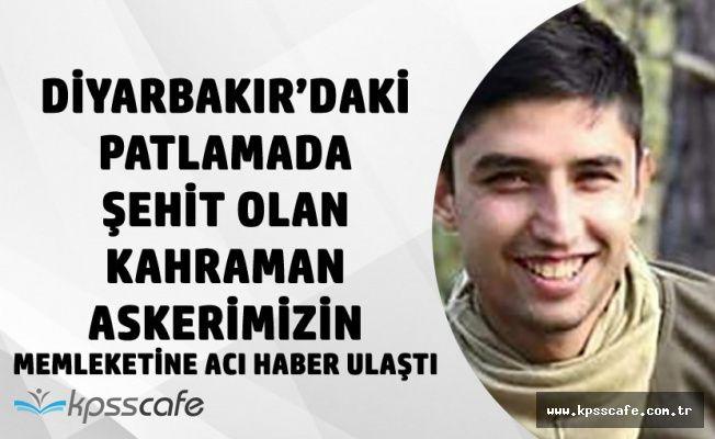 Kahraman Şehidimiz Uzman Çavuş Uysal'ın Memleketine Acı Haber Ulaştı