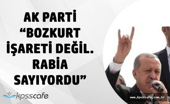 """AK Partili Ünal'dan 'Bozkurt İşareti' Yorumu :"""" Cumhurbaşkanı Rabia Sayıyordu"""""""