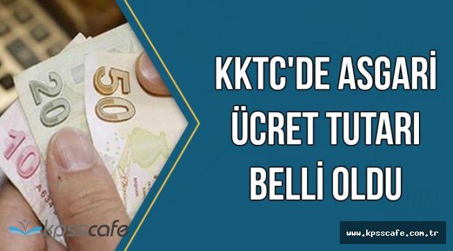 KKTC'de Yeni Asgari Ücret Tutarı Belli Oldu
