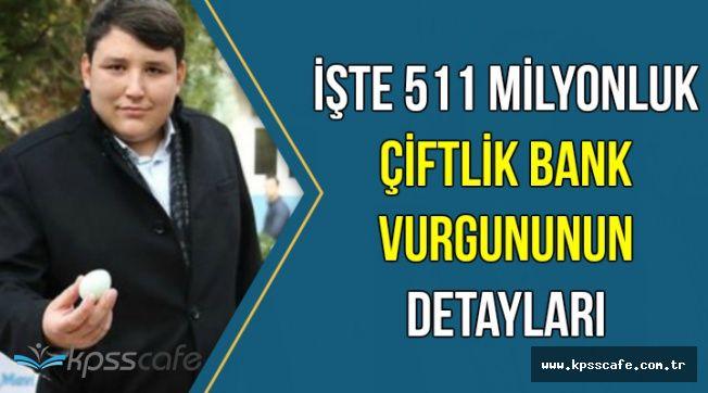 Mehmet Aydın'ın 511 Milyonluk Çiftlik Bank Vurgununun Detayları Açıklandı