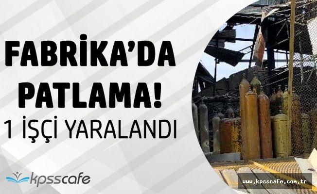 Ankara'da Gaz dolumu Yapılan Fabrika'da Patlama!