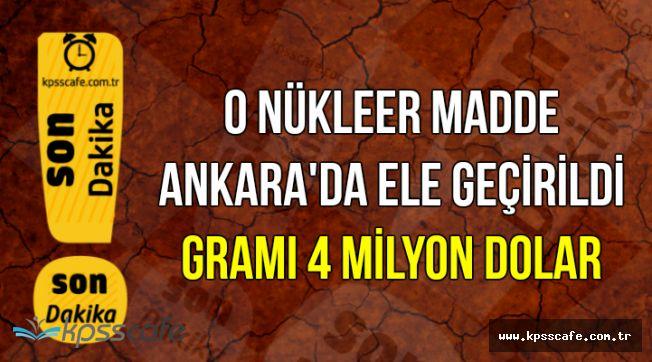 Ankara'da Ele Geçirildi: Gramı Tam 4 Milyon Dolar (Kaliforniyum Nedir , Nerelerde Kullanılır?)