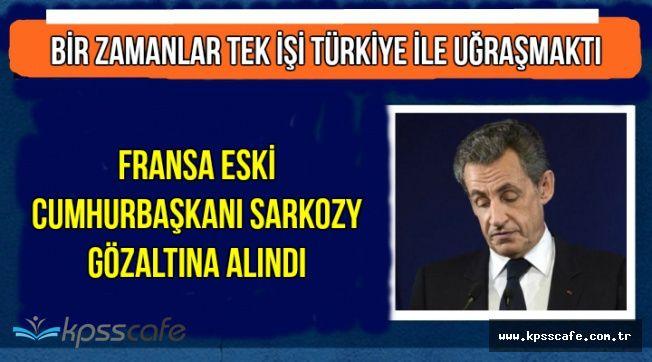Sarkozy Gözaltına Alındı (Nedeni Açıklandı)