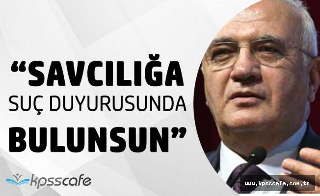 Mustafa Elitaş'tan Tayyar'a Sert Yanıt