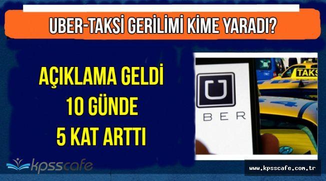 Taksi-Uber Tartışmasında Flaş Gelişme: Tartışma Onlara Yaradı