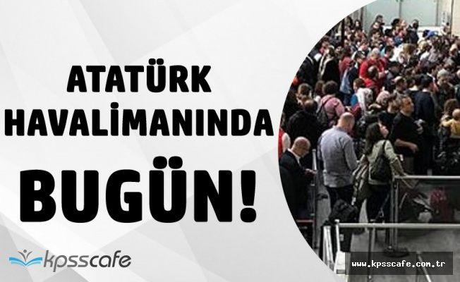 Polnet Yine Arızalandı! Atatürk Havalimanında Uzun Kuyruklar Oluştu