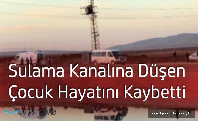 Siirt'te Sulama Kanalına Düşen Küçük Çocuk Hayatını Kaybetti