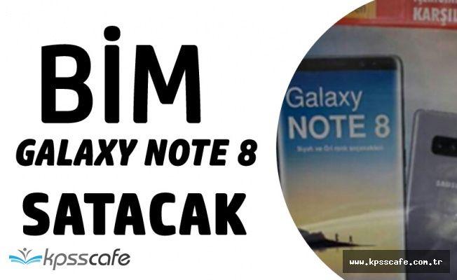 BİM Ucuz Fiyata İphone'dan Sonra Samsung Note 8 Satışı Yapacak!