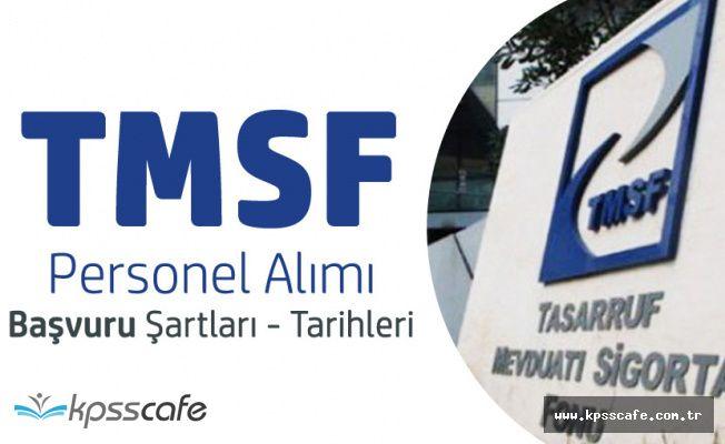 TMSF Memur Alımı için Kimler Başvurabilir? Sınav Tarihleri ve Şartlar