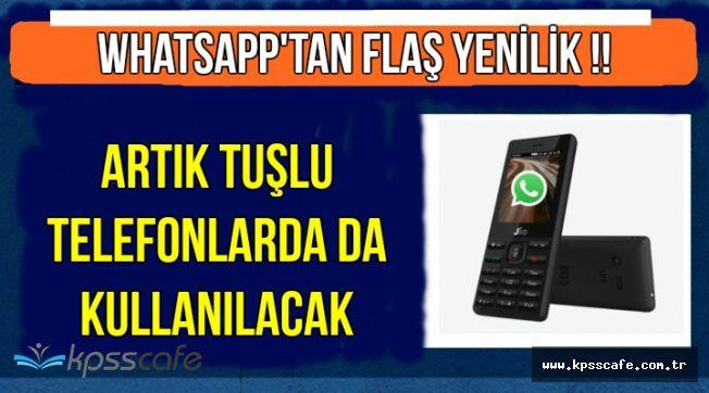 WhatsApp'a Flaş Yenilik !