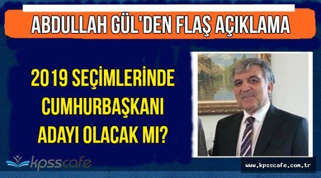 Flaş: Abdullah Gül Cumhurbaşkanı Adayı Oluyor mu?