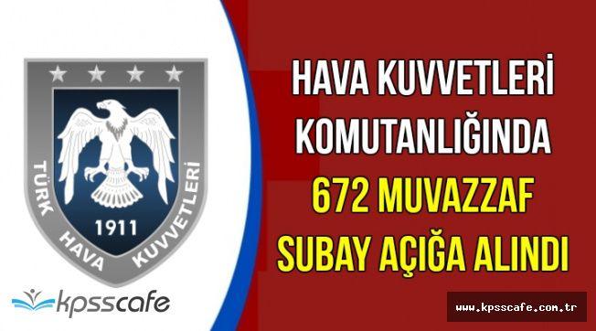 Hava Kuvvetlerinde 672 Muvazzaf Subay Açığa Alındı (İsim Listesi Yayımlandı mı?)