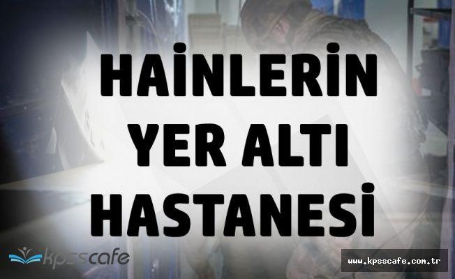 Afrin'de Ortaya Çıktı! Hastane Sığınağı Değil, Terörist Barınağı!