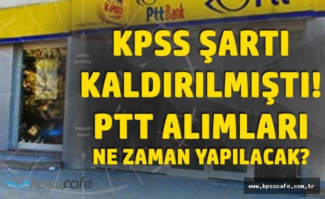 PTT Personel Alımlarında KPSS Şartı Kalkmıştı! Adayların Personel Alımı Duyurusu için Bekleyişi Sürüyor!