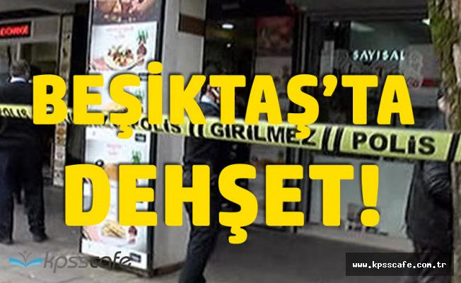 Beşiktaş'ta Dehşet! Kafeye Girip Ateş Açtı! 2 Yaralı