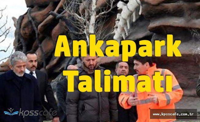 Ankara Büyükşehir Belediye Başkanı'ndan 'Ankapark' Talimatı